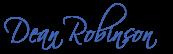 Dean Robinson signature