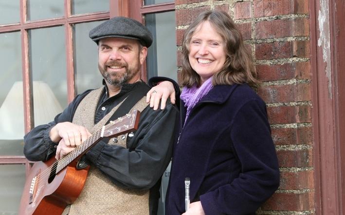 Mark Iler and Jess McKeegan