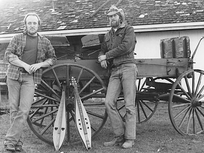 Dean & Frank in 1986