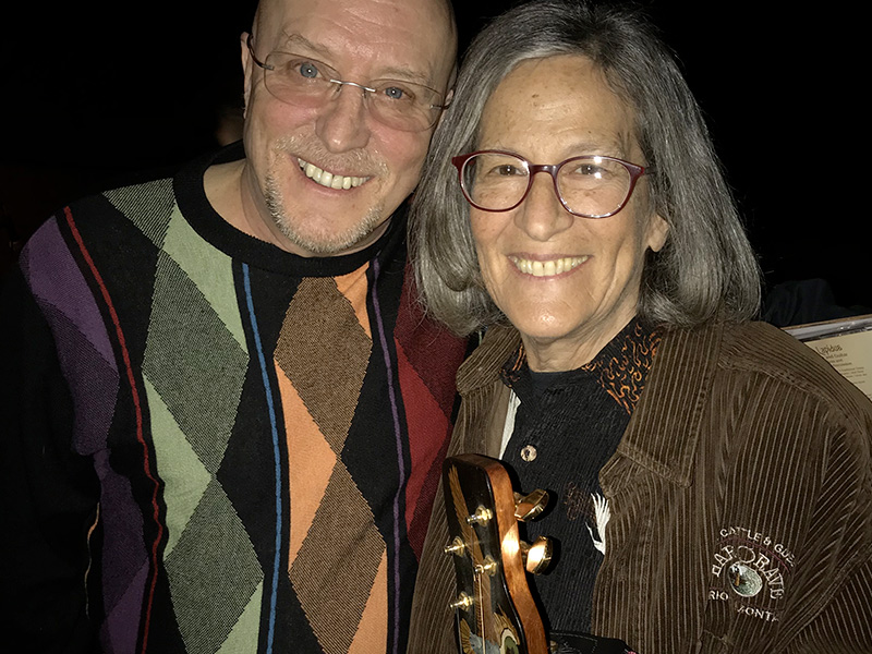 Dean & Joellen at the Hearts of Dulcimer showing